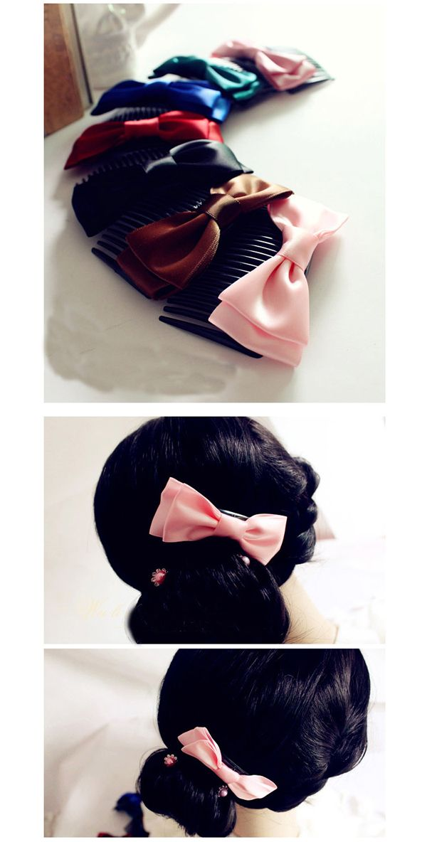 Hot Sale Corean Bowknot Decorated Design Hair Accessory