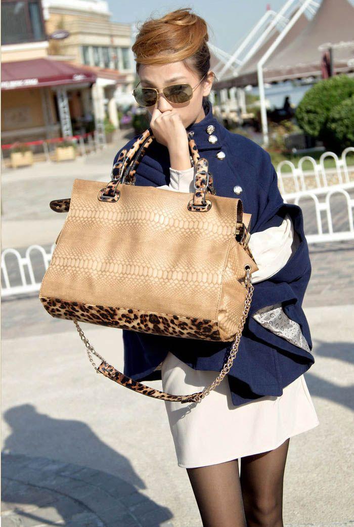 New Arrival Crocodilian Veins Embellished Handbag/Slanting Bag For Female