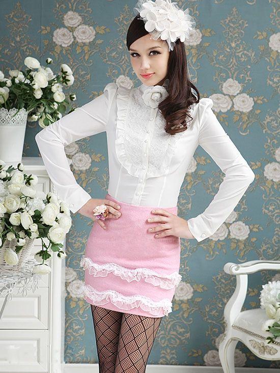 Красивые Белые Блузки С Доставкой