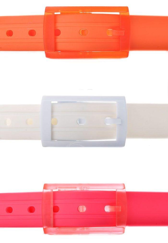 Bargain Price Silica Gel Multicolor Belts