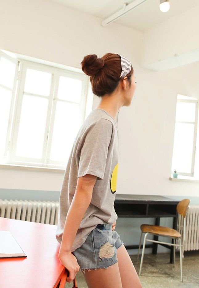 Women's Jeans Pants With Destroy Wash Fringe Hem Design
