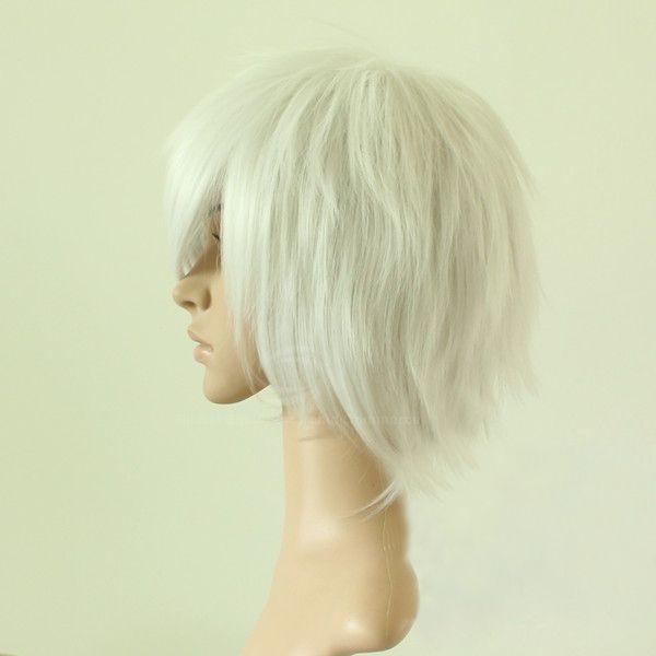 NO.6 Shion Men's Cosplay Wig(Silver)