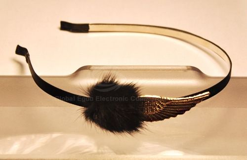 Fashion and Stylish Angel's Wing Embellished Hair Band For Women