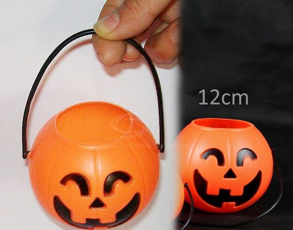 12CM Pumpkin Pot Light Halloween Decoration in Excellent Design (5 in Box)