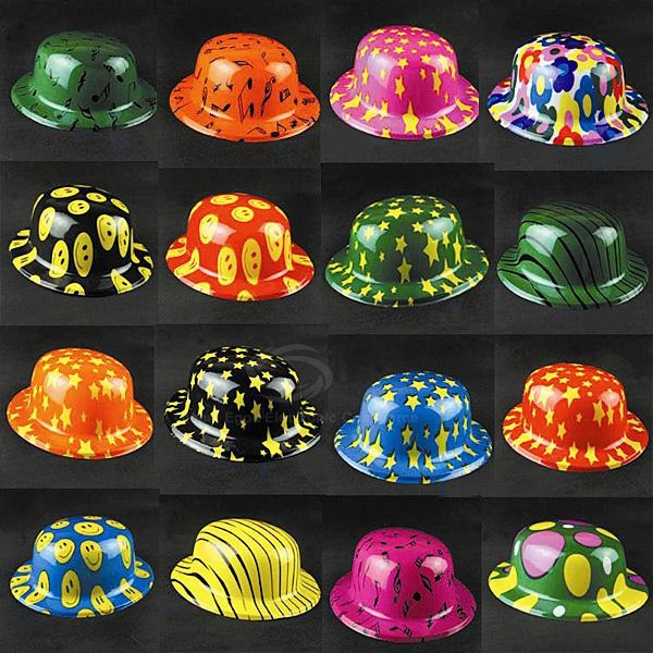 Halloween Party Accessory Plastic Clown Hat as Decoration Props in New Design