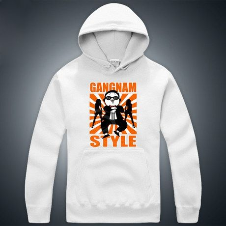 Optimized Gangnam Style Uncle PSY Horse Dance Long Sleeve Unisex Hoodies