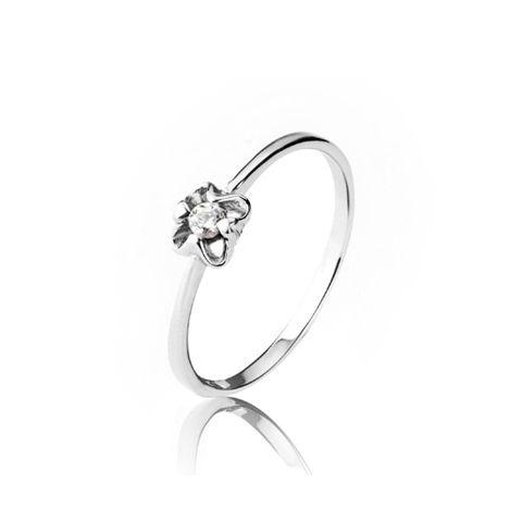 Romantic Sweet Style Rhinestone Embellished Love Ring