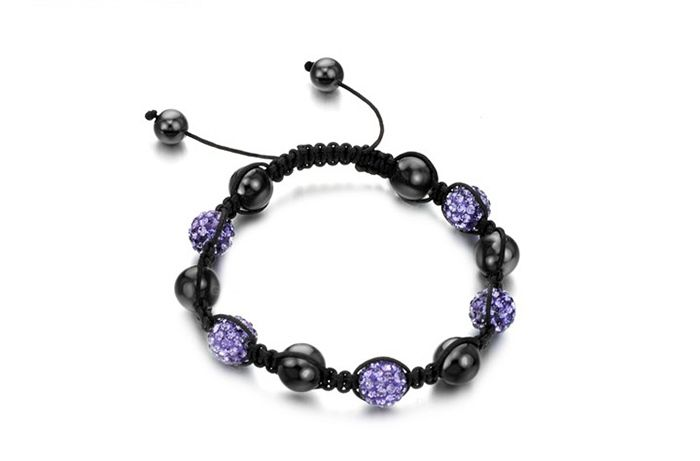 New Arrival Graceful Colorful Beads Braided Women's Bracelet