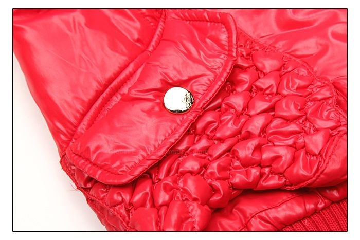 Modern Style Hooded Woolen Yarn Splicing Double Collar Long Sleeves PU Leather Women's Padded Jacket
