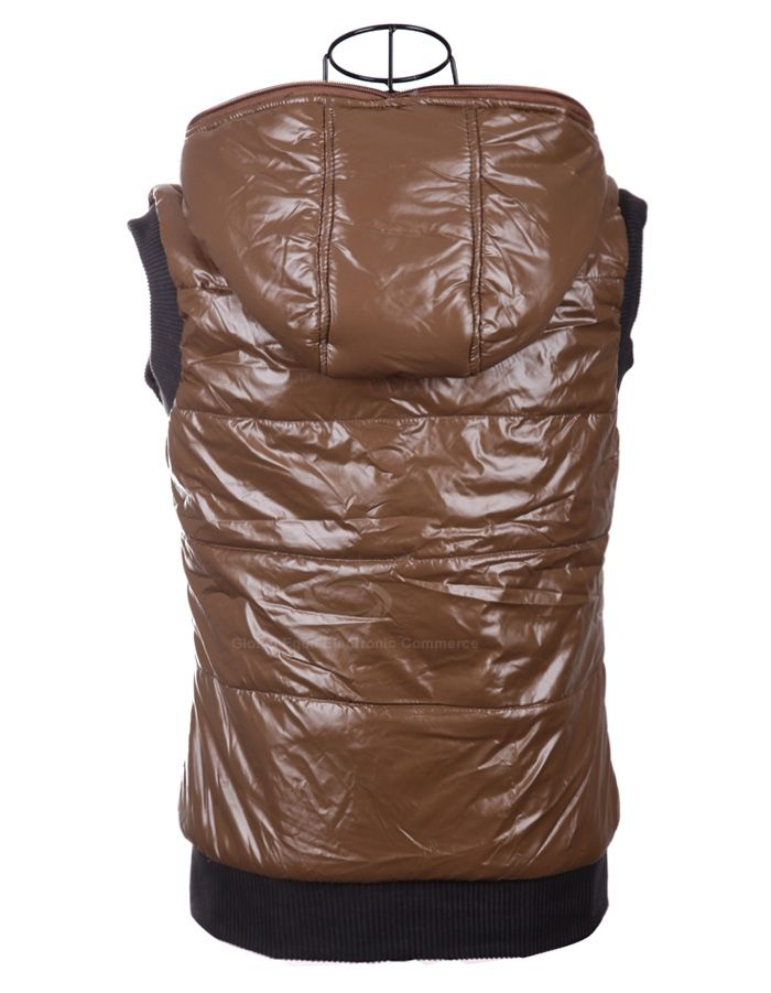 Fashionable Hooded Zipper Design Sleeveless Keeping Warm Casual Multicolor Women's Waistcoat