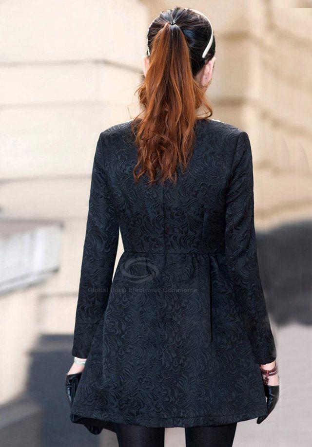 Noble Scoop Neck Rhinestone Embellished Cotton Blend Women's Dress