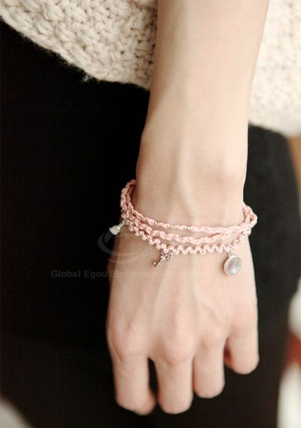 Exquisite Ladylike Style Knitted Women's Multi-Layered Bracelet