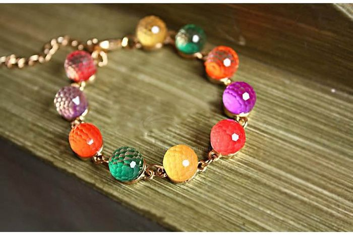 Bohemian Style Crystal Bracelet
