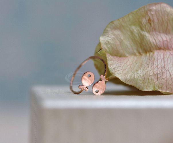 Sweet Fashion Style Fish Shape Women's Ring