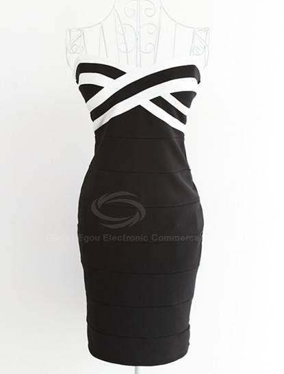 Sexy Cross Wrap-Chest Women's Spring Club Dress