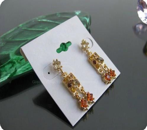 Pair of Gorgeous Style Faux Gem Embellished Women's Earrings