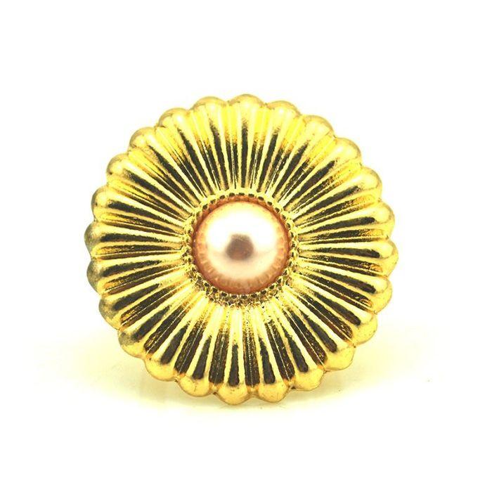 Exquisite Flower Shape Women's Finger Ring