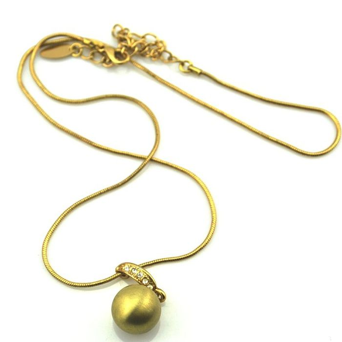 Exquisite Rhinestone Embellished  Alloy Women's Necklace