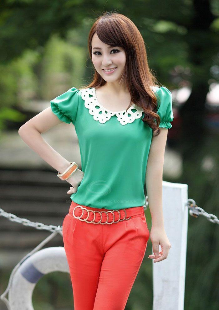Блузка Зеленого Цвета В Спб