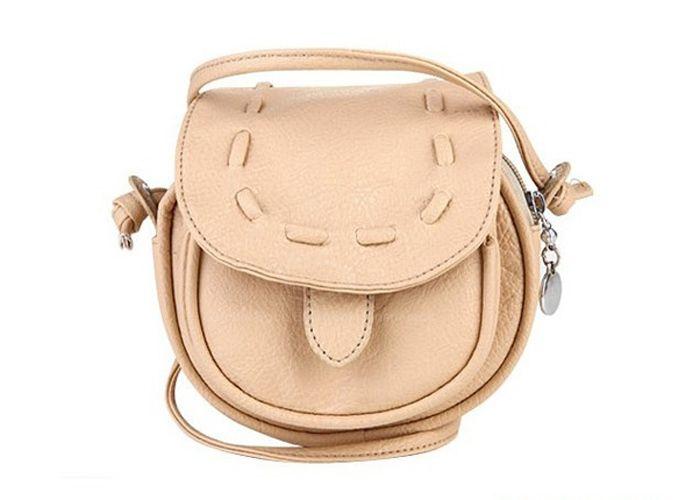 Girls Handmade Musette Bag Drum Pattern Small Shoulder Bag