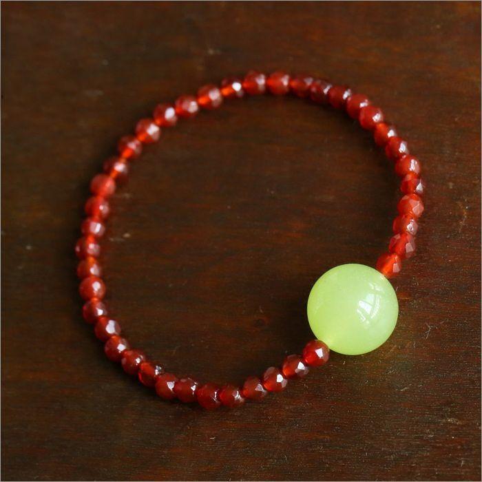 Faux Agate Embellished Bracelet