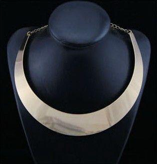 Punk Simple Ringlike Pendant Alloy Necklace For Women