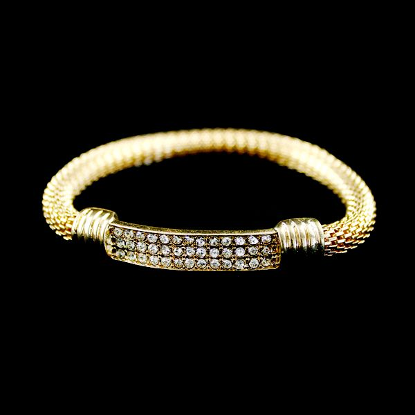 Alloy Rhinestone Bracelet