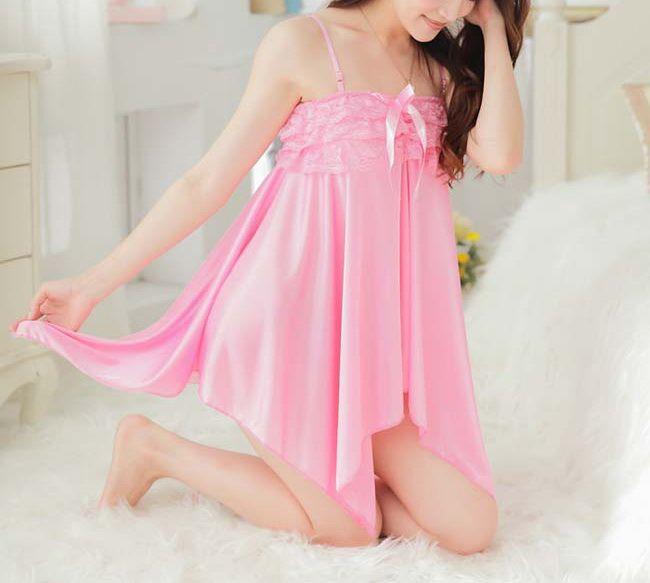 Handkerchief Cami Lingerie Sleep Dress