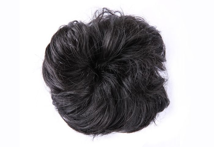 Sweet Style Fashion Fluffy Curled High Temperature Fiber Chignons For Women