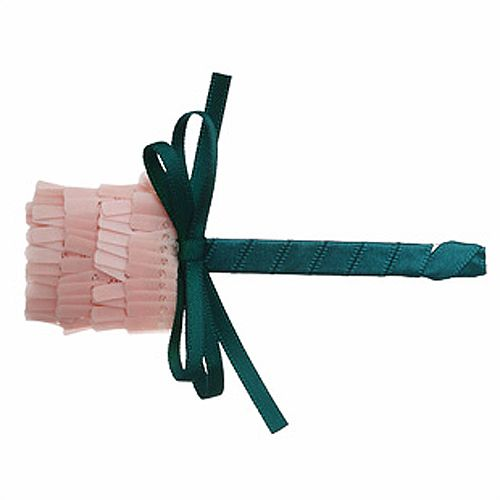 Elegant Handmade Tulip Embellished Long Hairpin  For Women