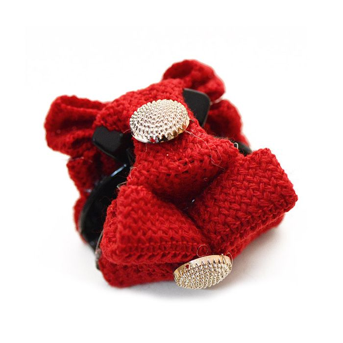 Chic Vivid Colored Bowknot Embellished Hairpin For Women