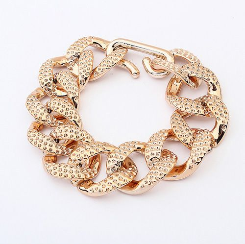 Polished Statement Chain Bracelet