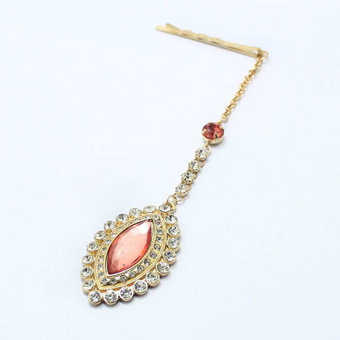 Chic Drop Rhinestone Hair Stick For Women