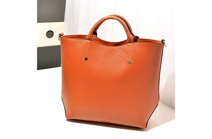 Retro Style Rivets and Stitching Design Women's Tote Bag