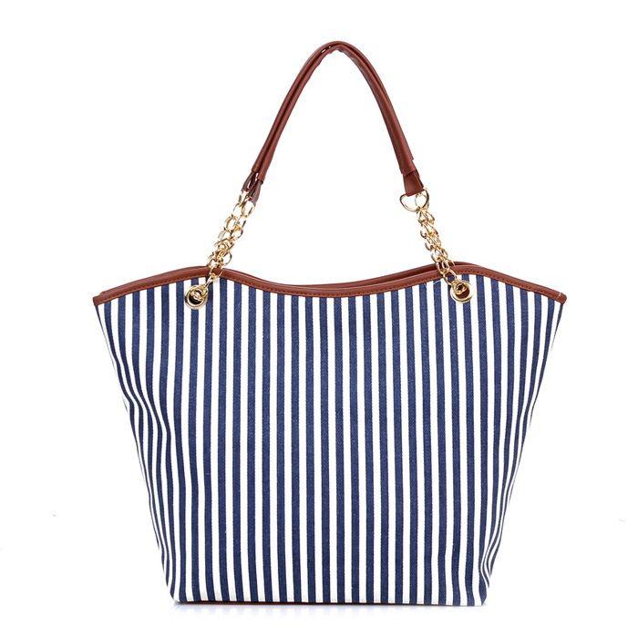 Women's Lady Street Snap Tote Bag Canvas Handbag