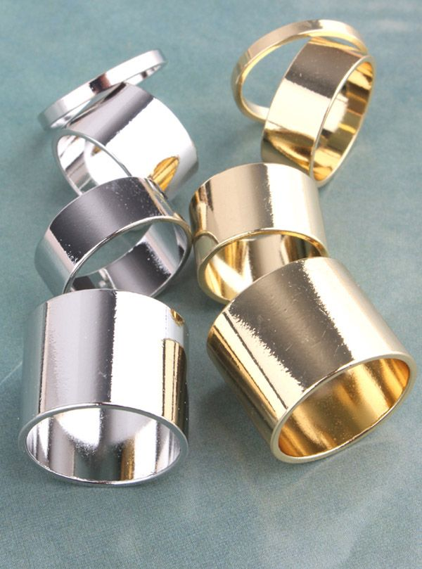 4PCS of Alloy Knuckle Rings