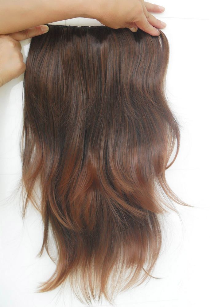 Casual Style Long Slightly Curled High Temperature Fiber Women's Hair Extension