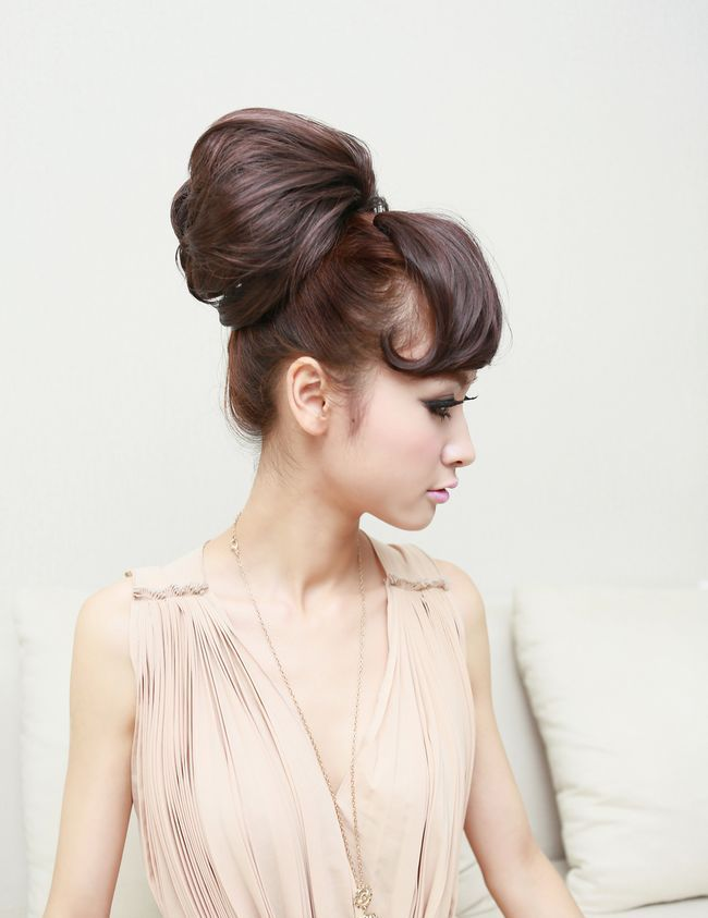 Fashion Fluffy High Temperature Fiber Curly Chignons For Women