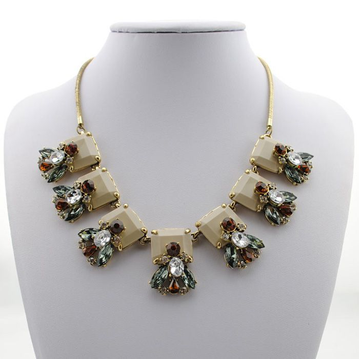 Chic Faux Crystal Firefly Pendant Alloy Necklace For Women