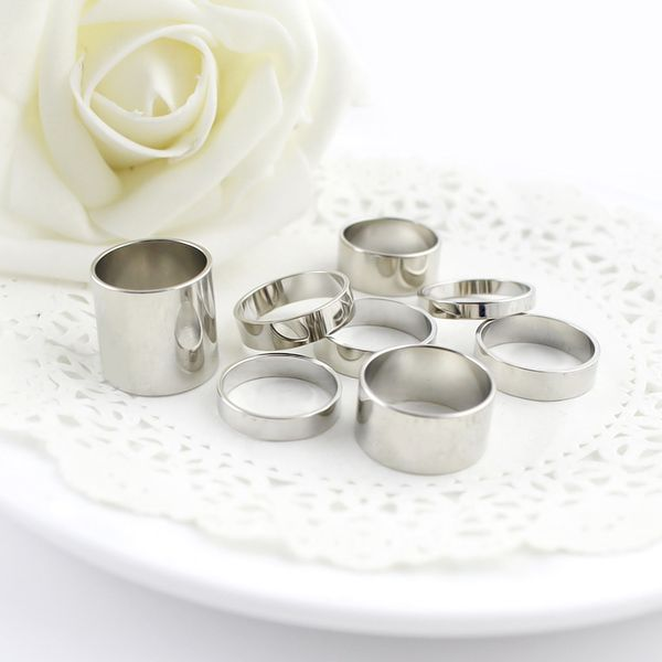 8PCS of Alloy Rings