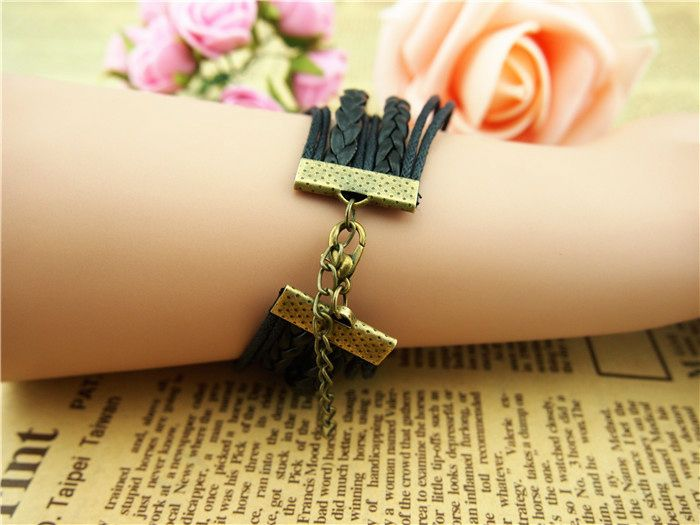 Pterosaur Infinity Arrow Multilayered Bracelet