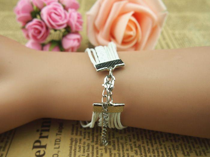 Cross Infinity Multilayered Bracelet