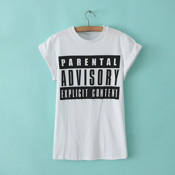 Letter Print Simple Style Short Sleeve Slimming Scoop Neck Women's T-shirt