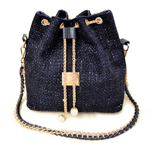 Bohemian Chains and Print Design Women's Shoulder Bag