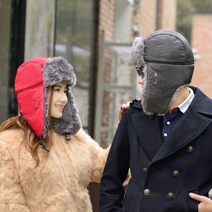 2 in 1 Keep Warm Hat Lei Feng Cap Respirator Mask for Winter Outdoor Activities