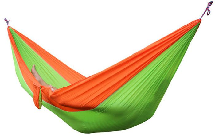 Portable Outdoor Camping Hiking Swing Hammock for 2 Persons ( Maximum Load 200kg )