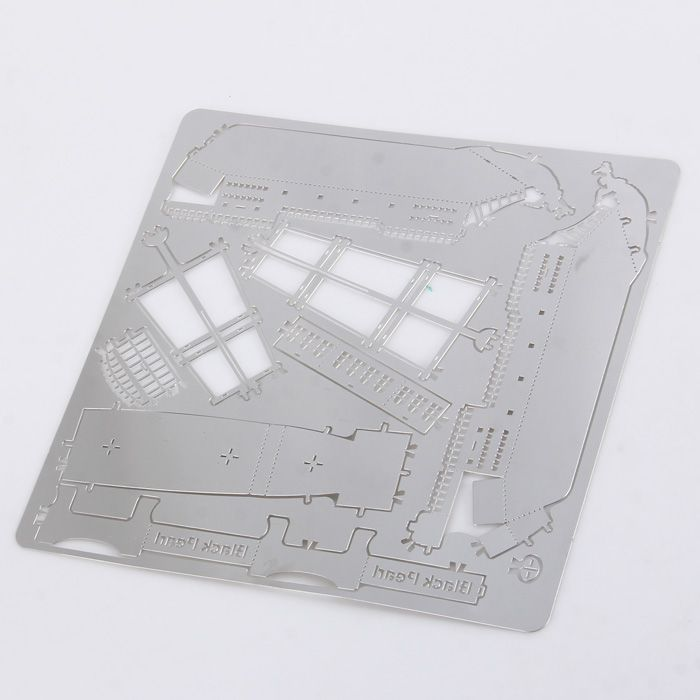 Boat Laser Cutting Model 3D Jigsaw Metallic DIY Toy