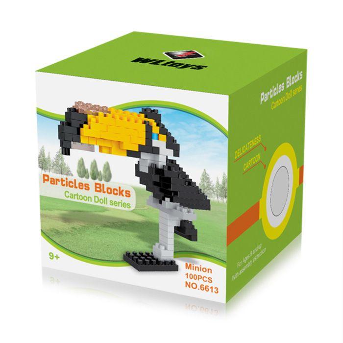 WLtoys Toucan Toy Block 100 Pcs Educational Toy 6613