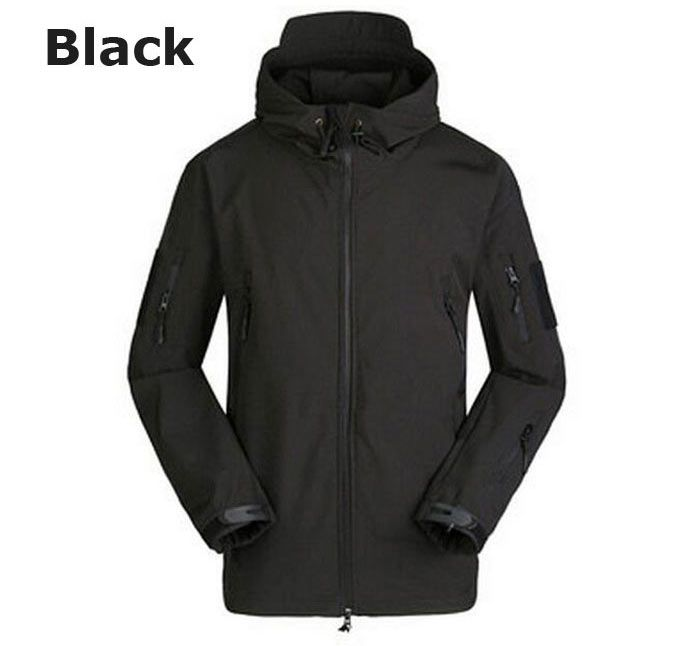 Windproof Warm Softshell Mountaineering Jackets with TAD Sharkskin