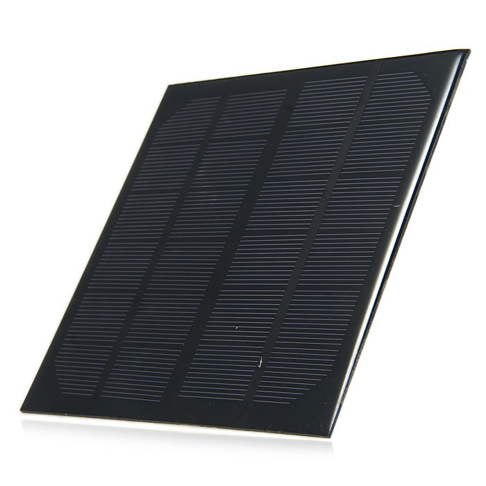 3W 6V Monocrystalline Silicon Solar Cell for Making Experiments